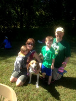 Merry and her new foster family!