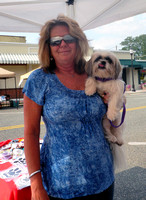 Linda with Buffy (formerly known as Gigi)